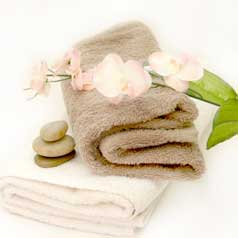 Spa Towels and Flowers, Aromatouch, Ion Cleansing in Edmonton, AB